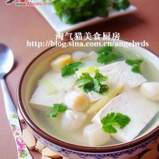 干贝豆腐汤的做法