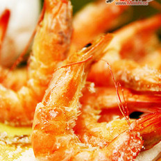 平底锅版盐焗虾的做法