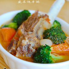 蔬菜炖羊排  的做法