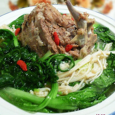 羊蝎子火锅或汤的做法