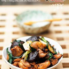 豆豉花菇雞的做法