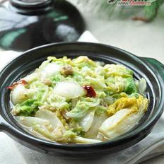 咸鱼白菜的做法
