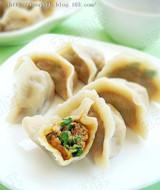 香菜猪肉饺子