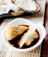 鸡肉蔬菜水饺