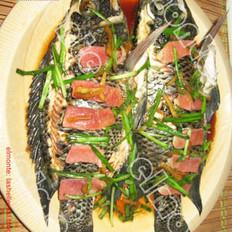 清蒸立鱼的做法