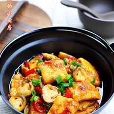麻辣豆腐锅