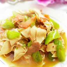 家常尖椒干豆腐的做法