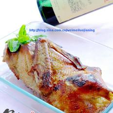 自制脆皮烤鸭的做法