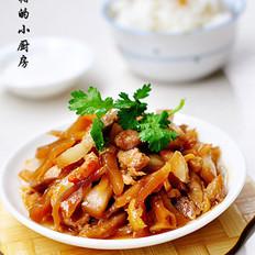 头菜蒸猪肉的做法