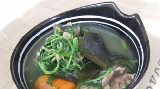 牛骨海带益母草汤的做法