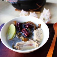 海茸排骨汤的做法