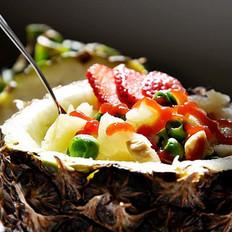 菠蘿雞丁的做法