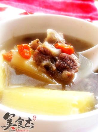 羊肉甘蔗汤的做法