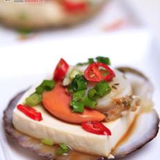 豆腐蒸扇贝的做法