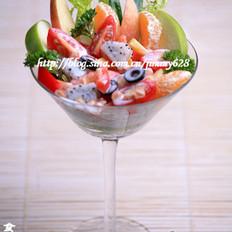 热带杂果酸奶沙拉