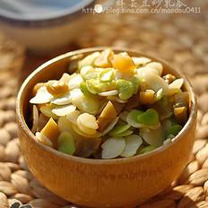 鲜芸豆炒乳瓜的做法