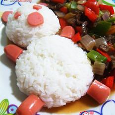 红烩牛肉饭的做法
