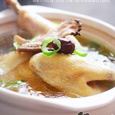 党参黄芪红枣鸡汤
