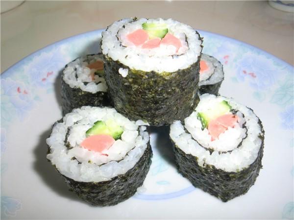 寿司卷的家常做法大全