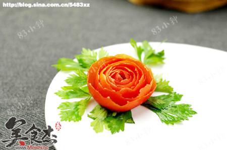 3分钟摆盘装饰—番茄玫瑰