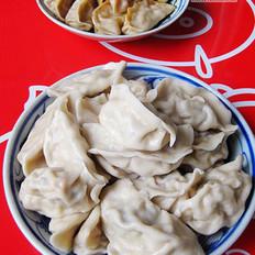 白菜水饺+辣白菜蒸饺
