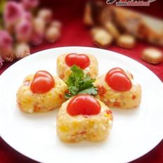 奶酪什蔬蛋炒飯的做法