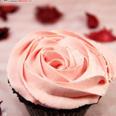 玫瑰花蛋糕的做法