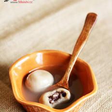 咖啡蜜豆汤圆的做法