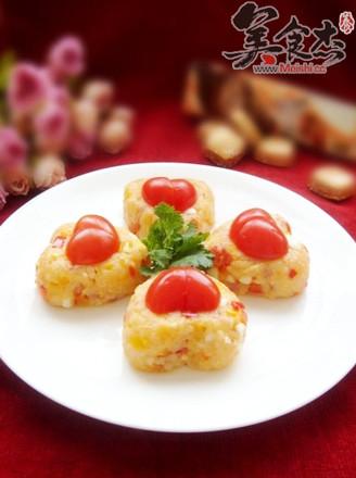 奶酪什蔬蛋炒饭的做法
