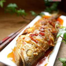 豆瓣黄花鱼的做法