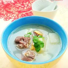 腊鸭煲萝卜汤的做法