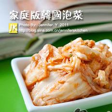 家庭版韩国泡菜