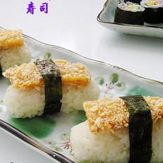 手握鸡排寿司的做法