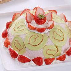 草莓皇家夏洛特的做法