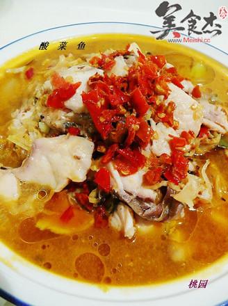 酸菜鱼的做法【步骤图】_菜谱_美食杰
