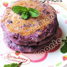 紫薯餅的做法