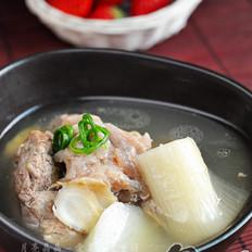 西洋参清炖羊肉汤