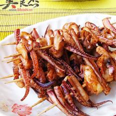 串烤麻辣八爪鱼