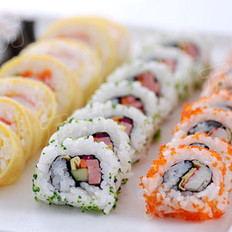 花樣壽司的做法