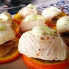 橙香蒸鱼卷