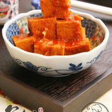 辣酱烧冻豆腐  的做法