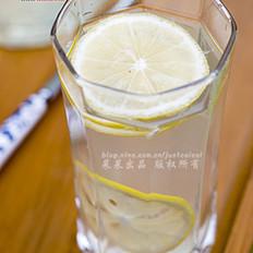 蜂蜜生姜柠檬茶