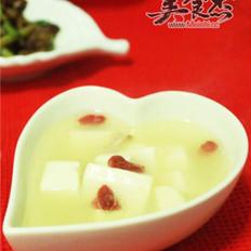 鸭架豆腐汤的做法
