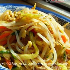 山寨韩式拌豆芽儿的做法