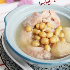 黄豆马蹄兔肉汤