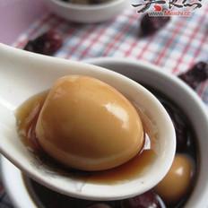 红枣桂圆炖鹌鹑蛋