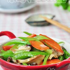 素炒香菇西芹