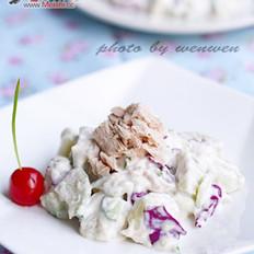 吞拿魚土豆沙拉的做法