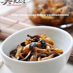 油浸蘑菇的做法