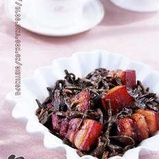 干豇豆紅燒肉的做法